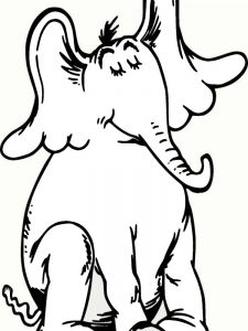 Horton Hears A Who Characters Coloring Pages