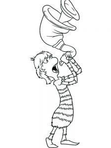 Horton Hears A Who Free Coloring Pages