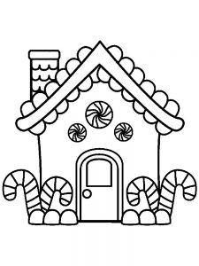 House Coloring Pages For Preschoolers Free