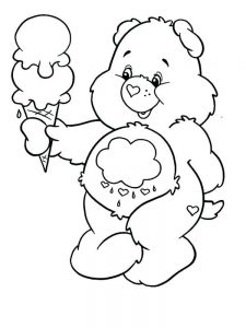 Ice Cream Cone Coloring Pages Printable
