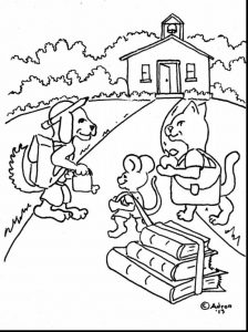 Incredible first day back to school coloring pages
