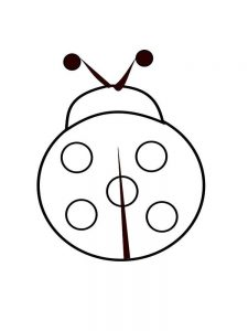 Ladybird coloring pages free image