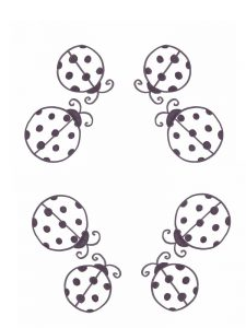 Ladybird coloring pages free print