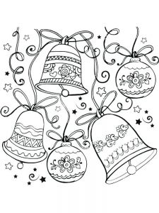 Large Christmas Ornament Coloring Page
