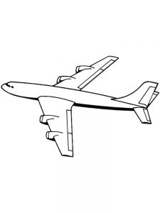 Lego Plane Coloring Pages