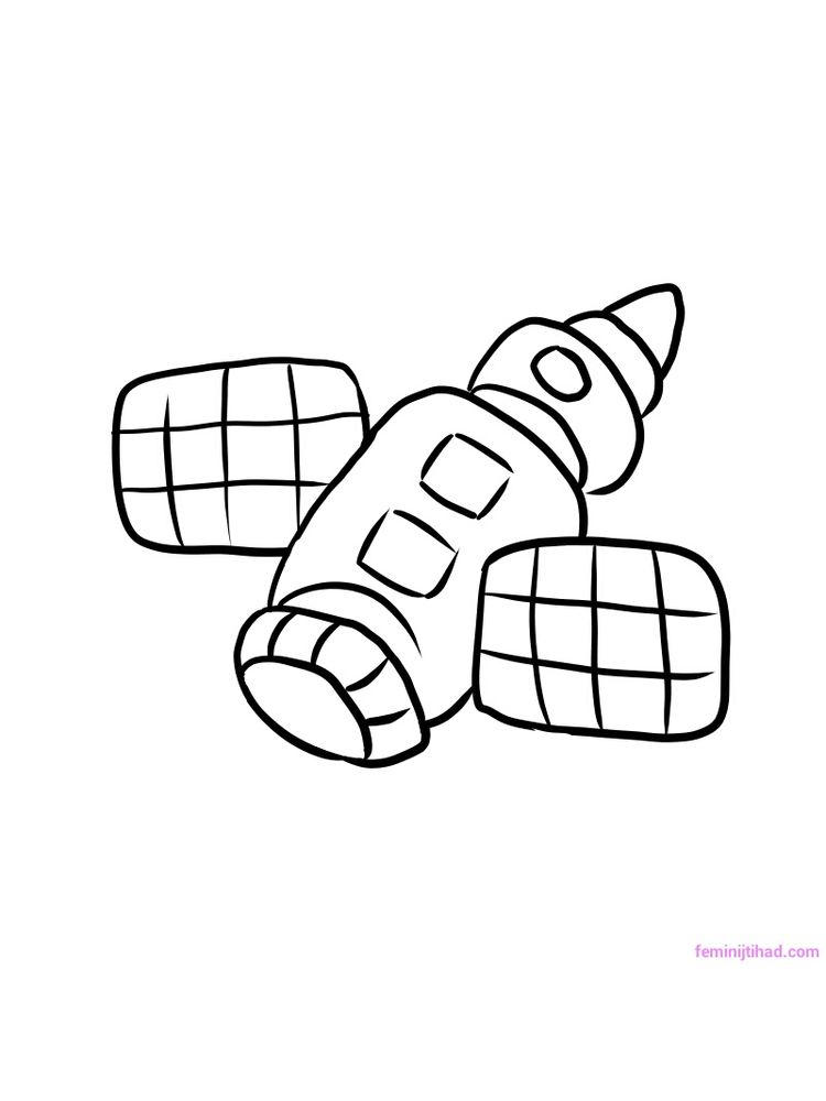Lego Spaceship Coloring Pages
