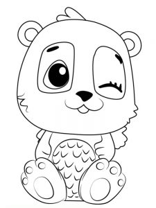 Little Hatchimals Coloring Pages