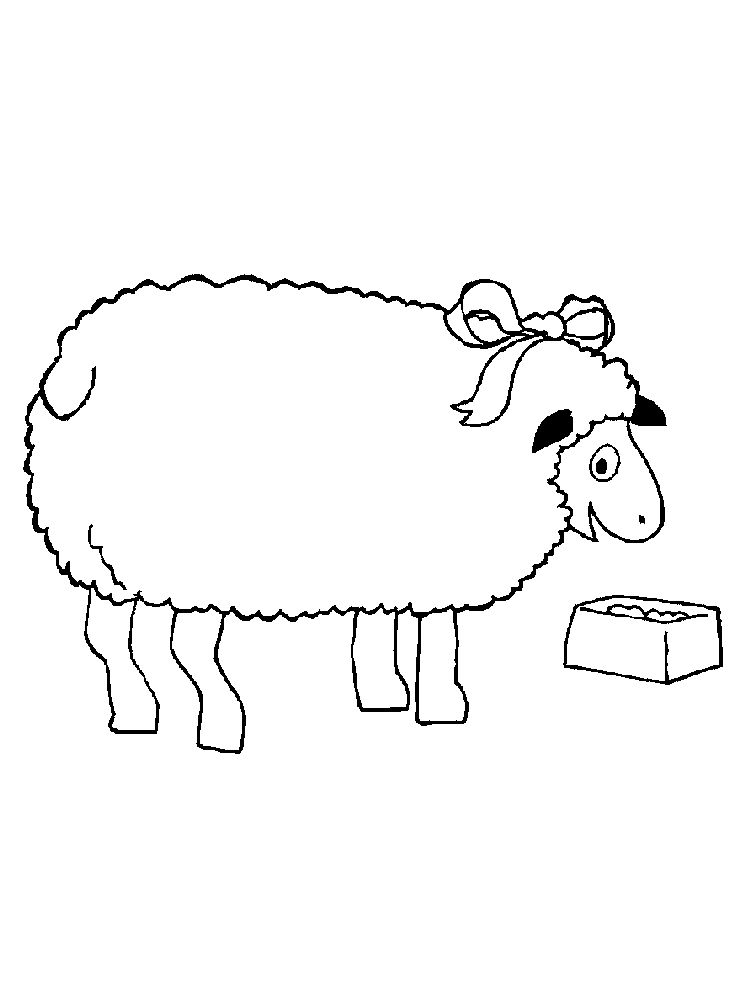 Little Lost Sheep Coloring Pages