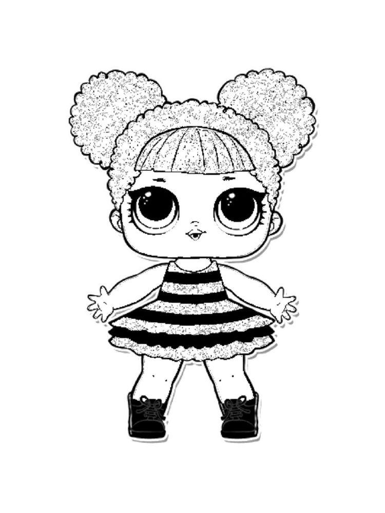 Printable LOL Dolls Coloring Pages For Kids - Free ...