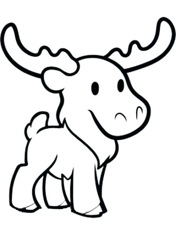Mariner Moose Coloring Pages
