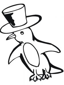 Mary Poppins Penguins Coloring Pages