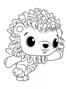 Mermaid Hatchimals Coloring Pages