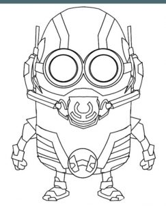 Minions Coloring Pages To Print For Free