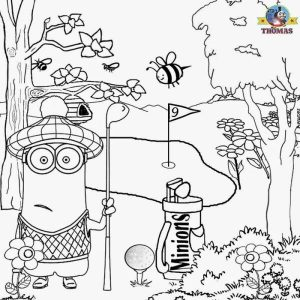 Minions summer fun coloring pages