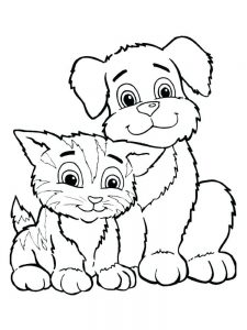 Momjunction Puppy Coloring Pages