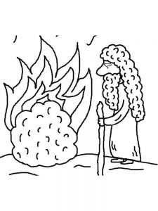 Moses And The Burning Bush Animated Video