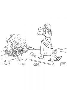 Moses And The Burning Bush Game