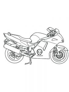 Motorcycle Coloring Pages That You Can Print
