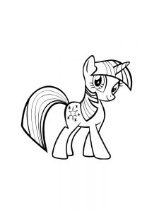 My Little Pony Alicorn Coloring Pages