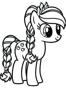 My Little Pony Anime Coloring Pages