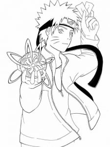 Naruto Chibi Coloring Pages