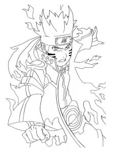 Naruto Coloring Pages Free