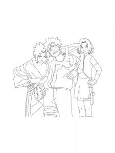 Naruto Gaara Coloring Pages