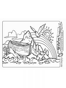 Noahs Ark Coloring Pages For Preschoolers