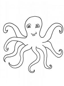 Octopus Coloring Pages To Print