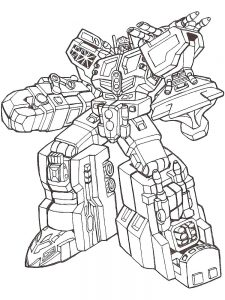 Optimus Prime And Bumblebee Coloring Pages