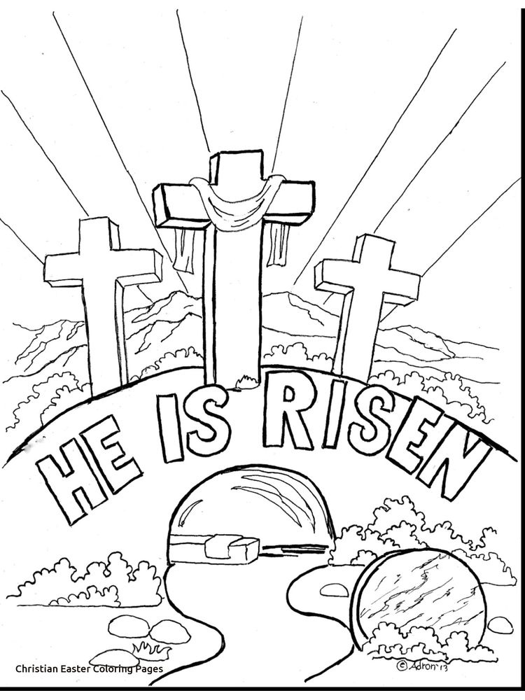 Palm Sunday Coloring Pages For Preschoolers