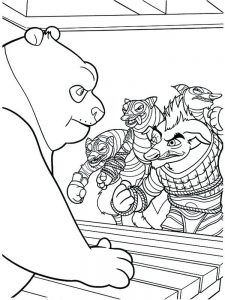 Panda Bears Coloring Pages Pdf