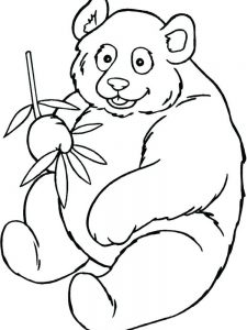 Panda Coloring Pages Free