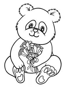 Panda Mandala Coloring Pages