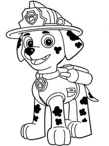 Paw Patrol Coloring Pages Free Printable
