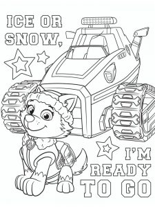 Paw Patrol Coloring Pages Online