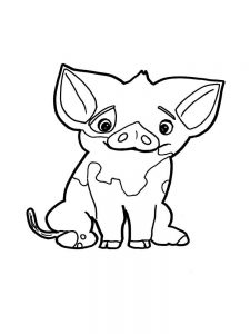 Pig Coloring Pages To Print
