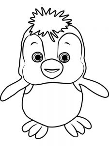 Pittsburgh Penguins Logo Coloring Pages