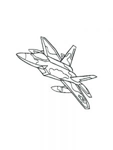 Police Airplane Coloring Pages