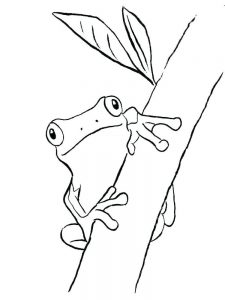 Princess And The Frog Coloring Pages Free To Print