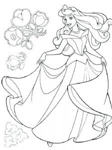 Princess Tiana Coloring Pages Free