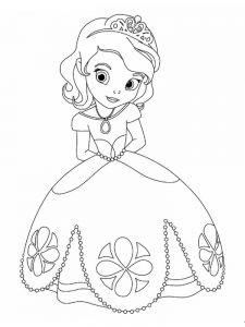Princesses Coloring Pages Pdf