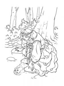 Princesses Coloring Pages Print