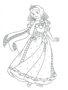 Princesses Coloring Pages Printable