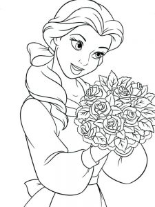 Princesses Colouring Pages