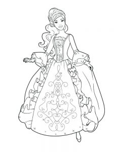 Princesses Colouring Pages Free