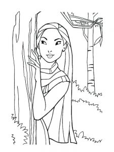 Princesses Colouring Pages Pdf