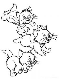 Printable Baby Kitten Coloring Pages
