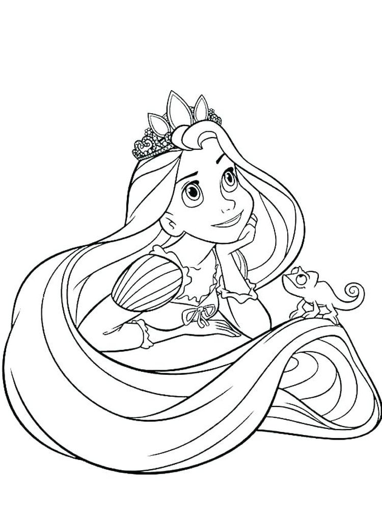 Printable Coloring Pages For Princesses