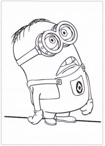 Printable Minions Image to Print